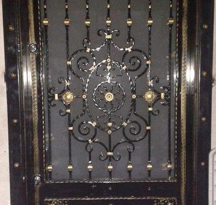 Ferforje kapı modelleri