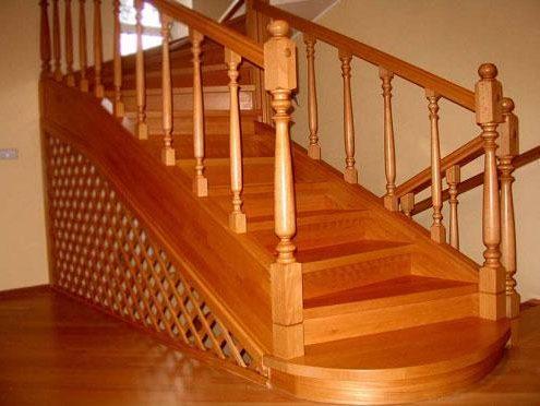 Ahşap Merdiven Kupeşte Modelleri