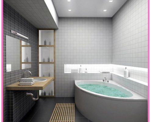 Banyo Dekorasyonu Banyo Küvet ve Duşakabin Modelleri