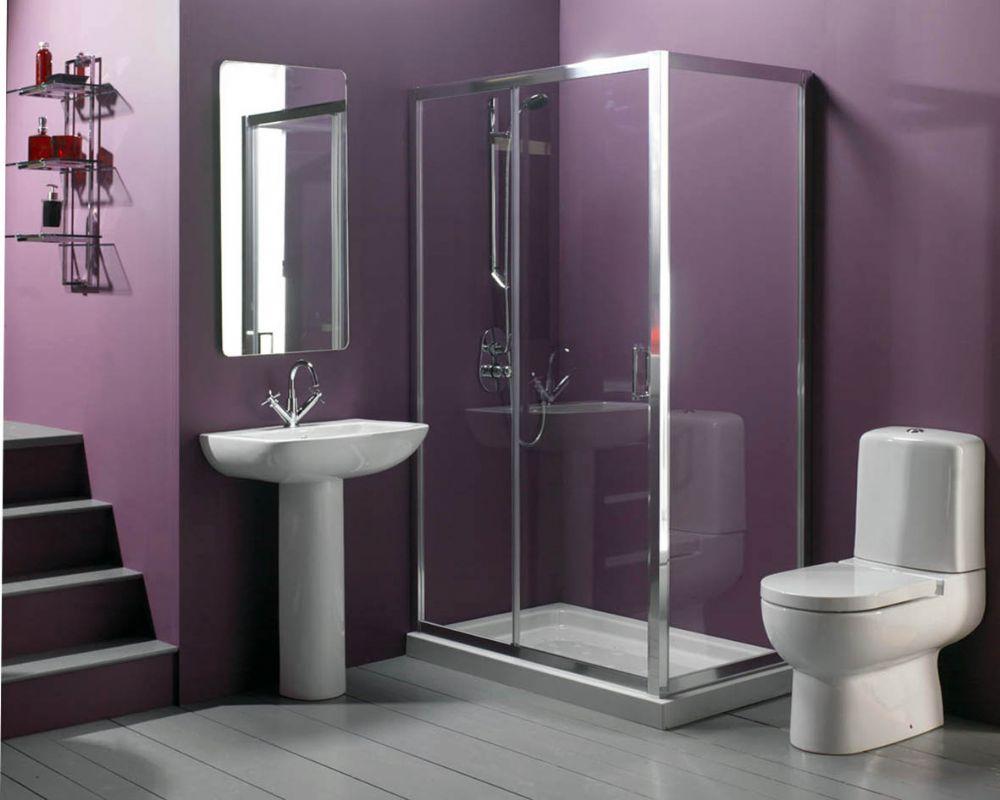 Beautiful Bathroom Color Schemes For 2018: Duşakabin Çeşitleri